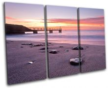 Bowleaze Cove Sunset Seascape - 13-0484(00B)-TR32-LO